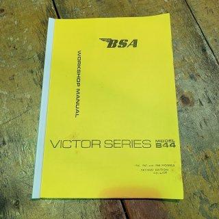 ワークショップマニュアル 66-68年BSA B44