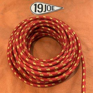 クロスカバープラグコ—ド 赤x黄 10cm