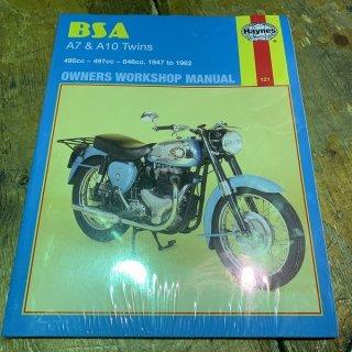 HAYNESマニュアル BSA A7/A10 47-62年