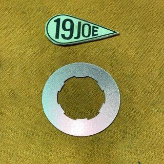 ギアボックススプロケットナットロックタブ Unit350/500ツイン用