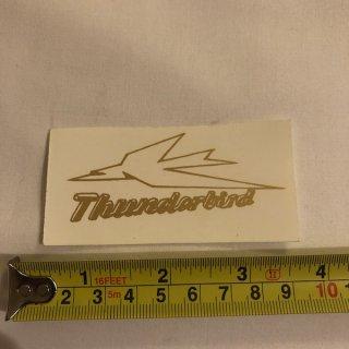 ウォーターデカール THUNDER-BIRD