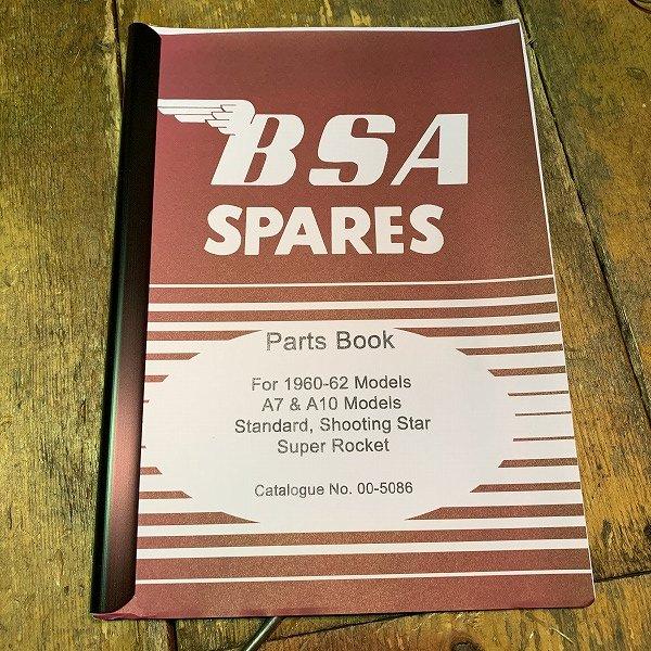 パーツカタログ BSA  A7/A10 60-62年