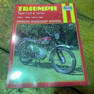 HAYNESマニュアル Triumph カブ&テリア 52-68年