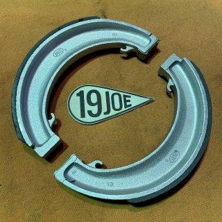 """ブレーキシュー 55-57年T100/110  8""""ハーフワイズ"""