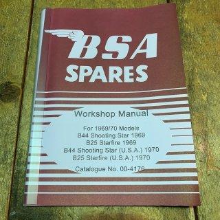 ワークショップマニュアル 69-70年BSA-B25/44