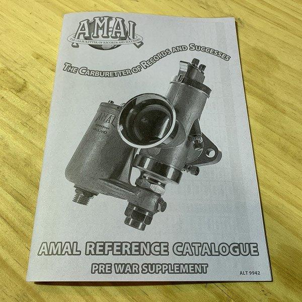 AMAL Pre War Supplement