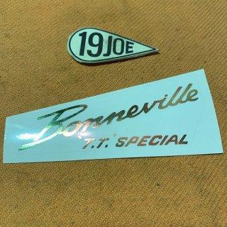 デカール BONNEVILLE TT SPECIAL