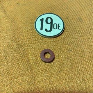1/4ファイバーワッシャ— 2.5mm厚