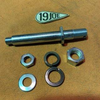 リアブレーキペダルスピンドル 38-59年
