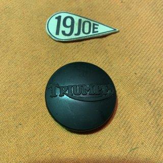 タンクセンターラバー ロゴ入り 71-72年650ツイン