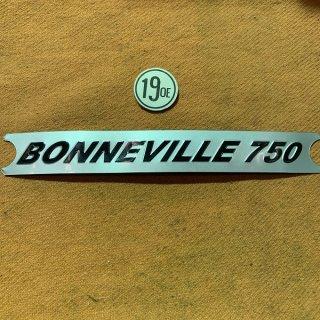 Bonneville750 サイドパネルステッカー 78年タイプ