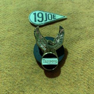 ラペルバッジ Triumphイーグル