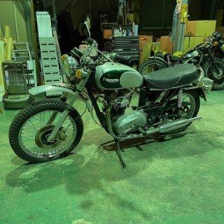 1979 T140改TR7 不動ベース車(Work Shop OK)