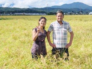 29年産 清水夫妻の風さやか【化学肥料不使用】玄米重量30kg