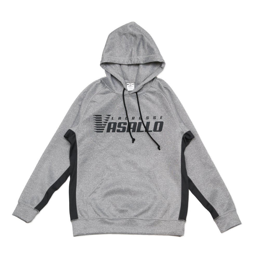 LACROSSE TRAINING PARKA LIGHT GRAY(Gray Logo)