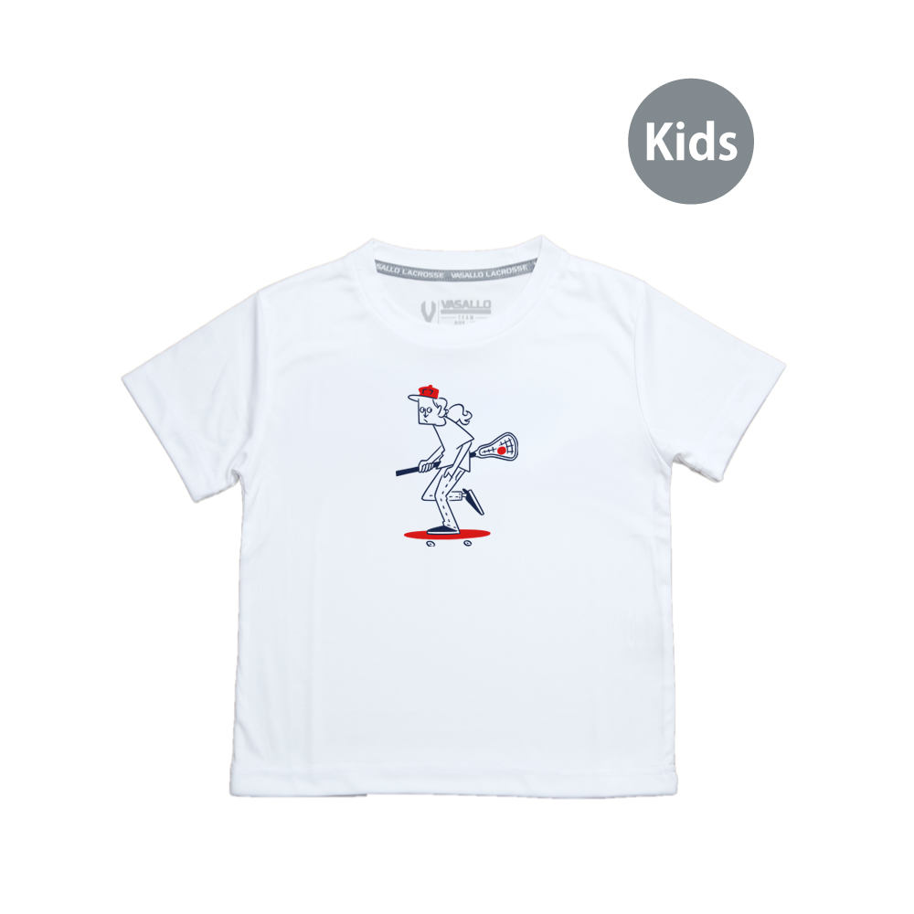 Laxboader DRY Tee (KIDS SIZE)