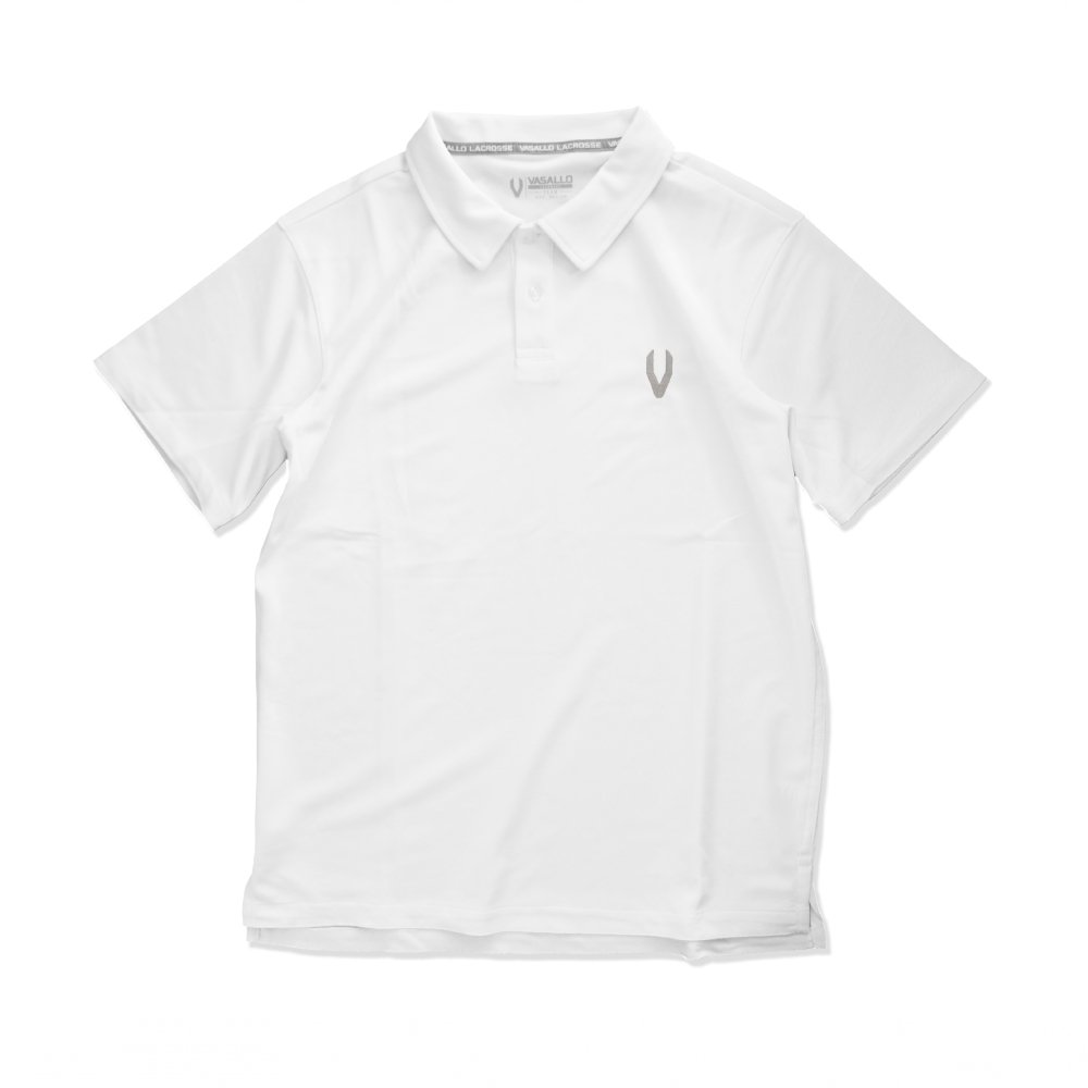 DRY POLO SHIRTS(White)