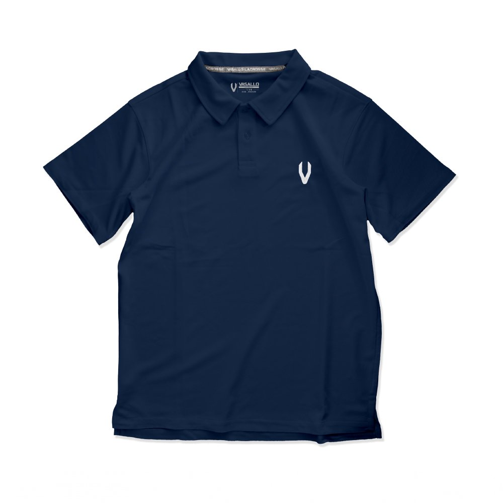 DRY POLO SHIRTS(Navy)