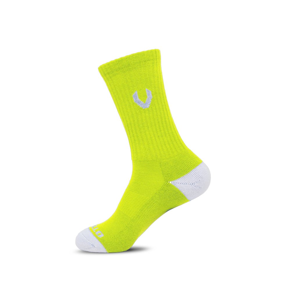 LACROSSE SOCKS NEON YELLOW
