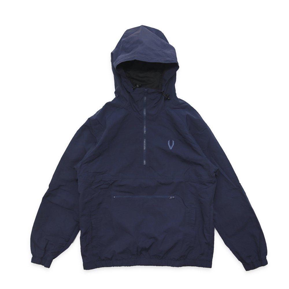 VASALLO 1/2 Zip Hoodie Pullover(NAVY)