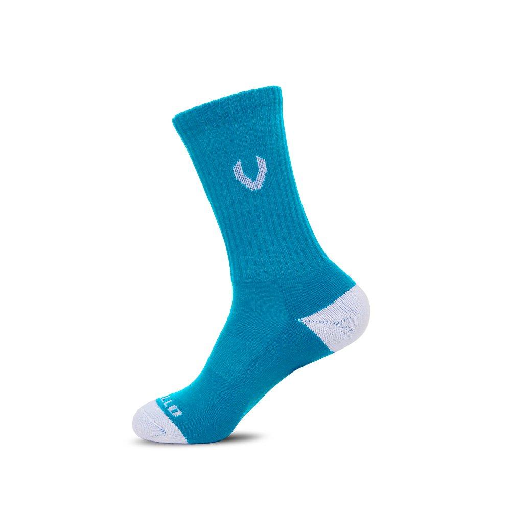 LACROSSE SOCKS NEON BLUE