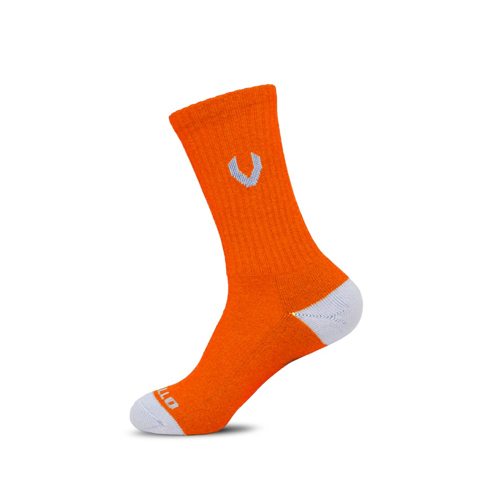 LACROSSE SOCKS NEON ORANGE