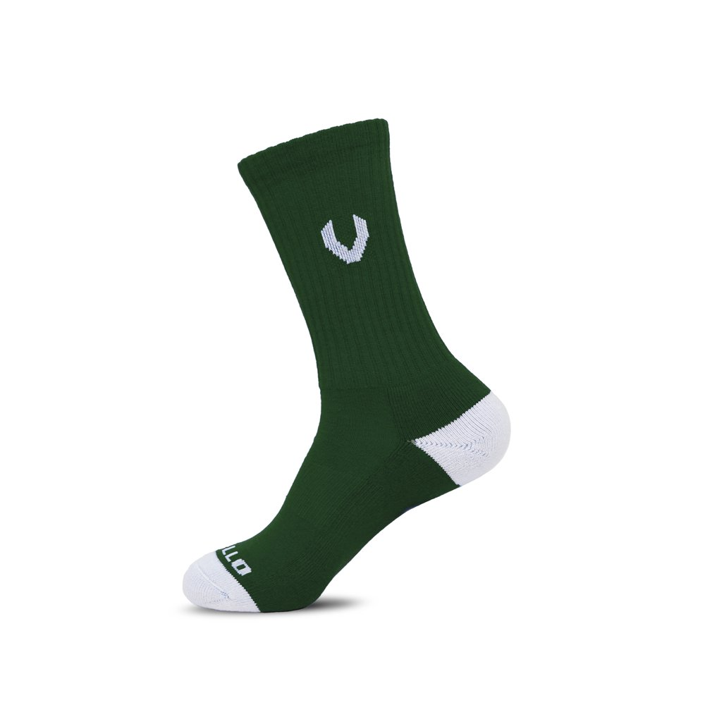 LACROSSE SOX DARK GREEN