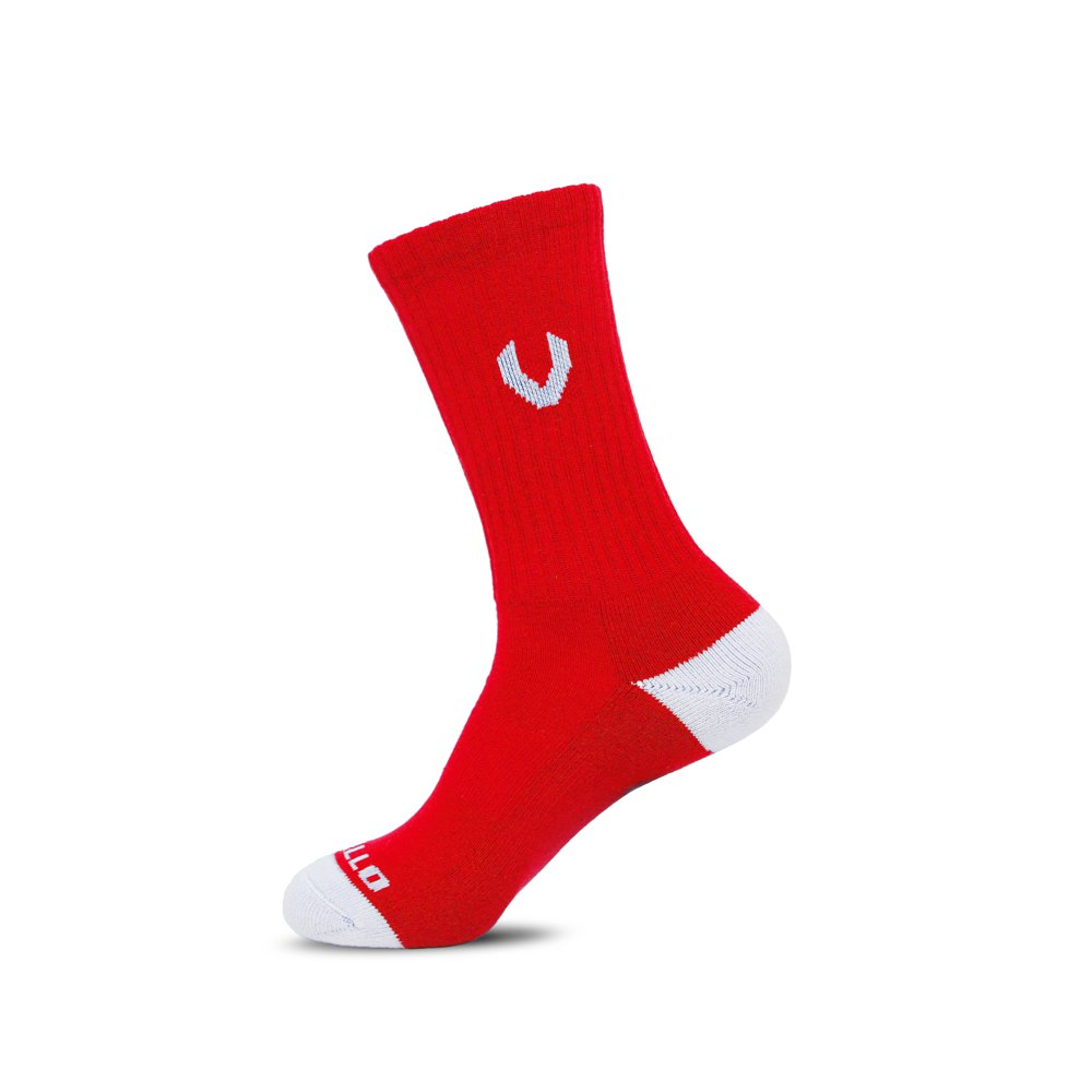 LACROSSE SOCKS RED