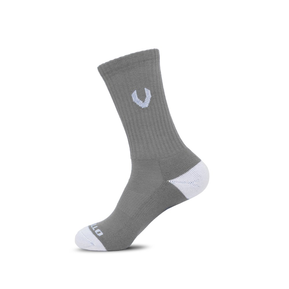 LACROSSE SOCKS GRAY