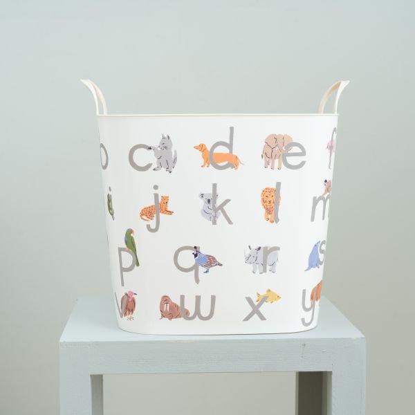 baquet Leah Goren alphabet