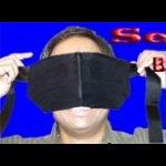 透視用目隠し(小) (顔に当てる目隠しタイプ) (See Thru Blindfold)