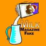 ミルクと新聞紙 (ミルク・マガジン・フェイク)