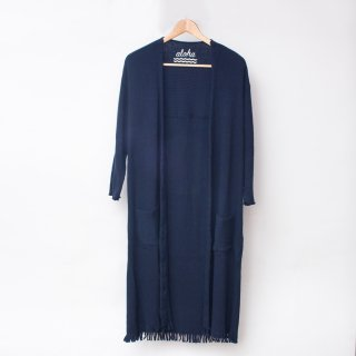 <ginger and sprout>RIB LONG navy