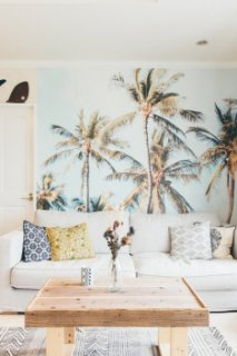 The Sea Wall Supply & Co. 剥がせる壁紙 《Gypsea Palm Trees》