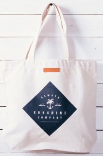 Always Sunshine Co. 2017LOGO TOTE BAG ナチュラル&ブラック