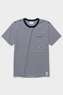 ALMOND-DOUGLAS STRIPE-NAVY