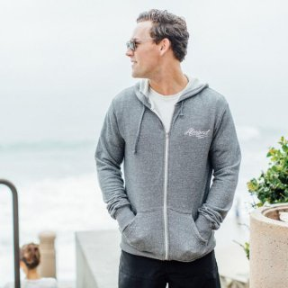 <img class='new_mark_img1' src='//img.shop-pro.jp/img/new/icons6.gif' style='border:none;display:inline;margin:0px;padding:0px;width:auto;' />ALMOND-SCRIPT HOODIE-HEATHER GREY