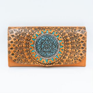<img class='new_mark_img1' src='//img.shop-pro.jp/img/new/icons14.gif' style='border:none;display:inline;margin:0px;padding:0px;width:auto;' />TBC Select / Mandala Blue Wallet