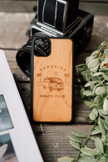<img class='new_mark_img1' src='https://img.shop-pro.jp/img/new/icons59.gif' style='border:none;display:inline;margin:0px;padding:0px;width:auto;' />【New】 Van Life /  IPhone Hybrid Wood Cover
