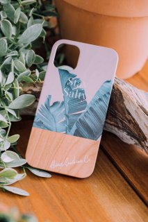 <img class='new_mark_img1' src='https://img.shop-pro.jp/img/new/icons59.gif' style='border:none;display:inline;margin:0px;padding:0px;width:auto;' />iPhone Wood Case / Stay Salty Leaf