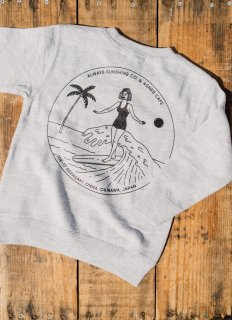 <img class='new_mark_img1' src='//img.shop-pro.jp/img/new/icons31.gif' style='border:none;display:inline;margin:0px;padding:0px;width:auto;' />キッズ Classic Surf Girl Sweat