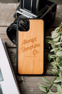 <img class='new_mark_img1' src='https://img.shop-pro.jp/img/new/icons30.gif' style='border:none;display:inline;margin:0px;padding:0px;width:auto;' /> 【New】 ASC Logo /  iPhone Hybrid Wood Cover