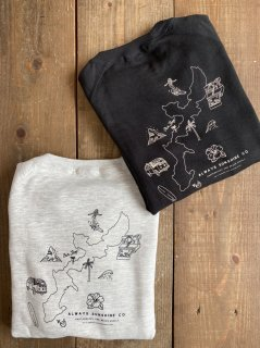 <img class='new_mark_img1' src='//img.shop-pro.jp/img/new/icons6.gif' style='border:none;display:inline;margin:0px;padding:0px;width:auto;' />【 New Arrival 】  Okinawa Map- Sweat -
