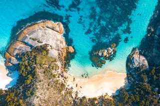 Two Peoples Cove Landscape / Albany,Western Australia