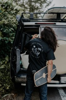 <img class='new_mark_img1' src='https://img.shop-pro.jp/img/new/icons14.gif' style='border:none;display:inline;margin:0px;padding:0px;width:auto;' />【New Design】ASC Nose Rider Tee / 4 Colors