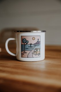 <img class='new_mark_img1' src='https://img.shop-pro.jp/img/new/icons14.gif' style='border:none;display:inline;margin:0px;padding:0px;width:auto;' />Stainless Camper Mug The Pass Byron Bay