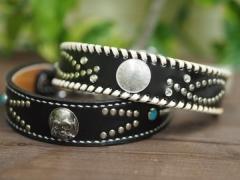 黒/グレー系の首輪