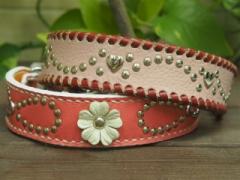 ピンク系の首輪