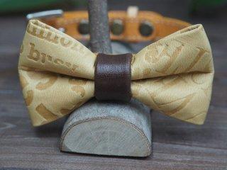 蝶ネクタイのベルトタイプ首輪(小型〜中型犬用)004