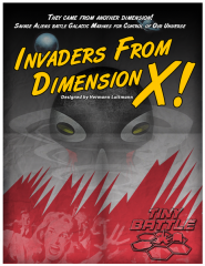 X次元からの侵略者(Invaders from Dimension X!)